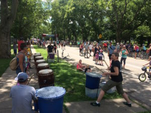 Pittsburgh Taiko at Pittsburgh's Open Street!